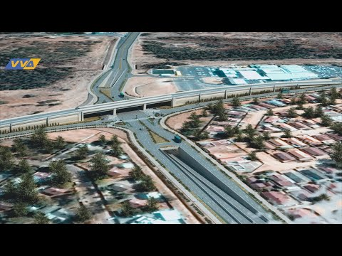Gaborone new interchanges roads