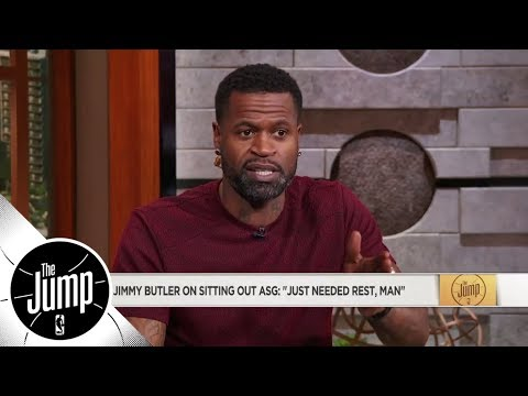 Stephen Jackson on Jimmy Butler sitting out All-Star Game: I have to respect it | The Jump | ESPN