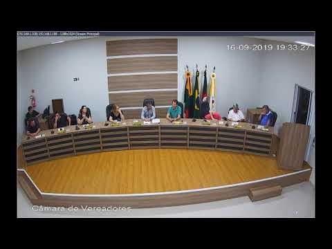 Sessão Ordinária 16/09/2019