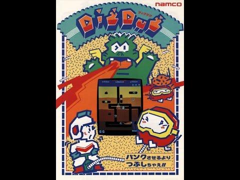 Arcade Gameplay - Dig Dug