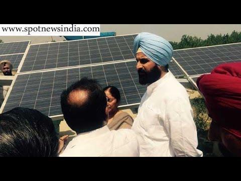 Majithia inaugurates 4 MW solar power project at Lalpur