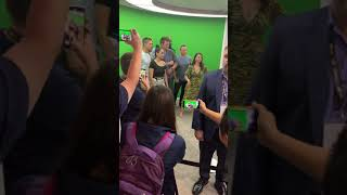 The Rookie Cast Arriving to their autograph signing at comic con 2019 Nathan Fillion