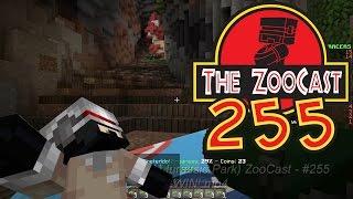 Minecraft Jurassic World (Jurassic Park) ZooCast - #255 Birthday WIN!