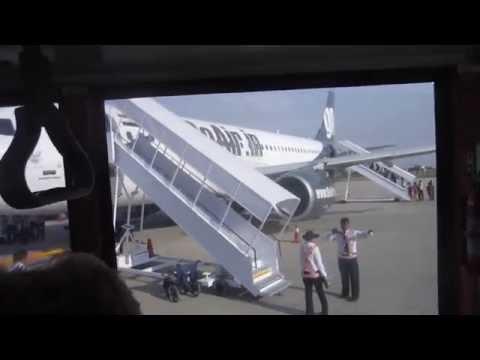 Flight Jaipur Mumbai and landing in Mumbai Go Air