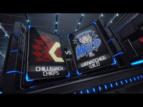 BCHL Highlights | Chilliwack Chiefs vs. Wenatchee Wild - Dec. 28th, 2016