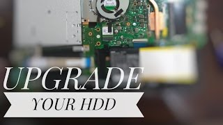 Disassemble ASUS R558UR / To upgrade hdd/ssd