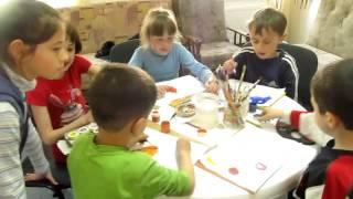 Девочка 10 лет София, сняла весь урок рисования, на видео