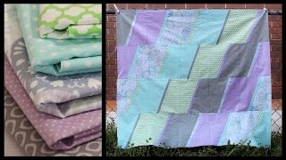 Baby Quilt How To | 10 inch slicer project - Whitney Sews