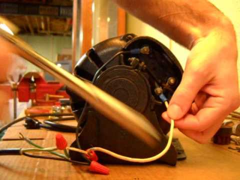hqdefault how to wire a delco electric motor youtube delco electric motor wiring diagram at bayanpartner.co