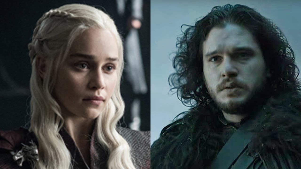 Snow Up Jon Do Hook And Daenerys