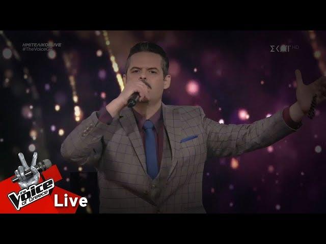 Γιάννης Πανουκλιάς - Άρχισαν τα όργανα   2ος ημιτελικός   The Voice of Greece