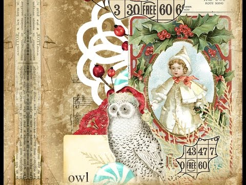 Christmas 2014 Printable Journal Kit by EVG - 'Merry Melody'