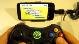 Motorola Moto G - ¿Cómo usar el mando de la Xbox 360 (Android)? Review + gameplay HD