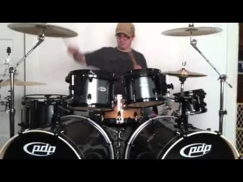 Another testing of my pdp double drive 8 piece drum kit