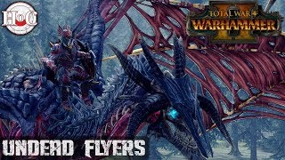 Undead Flyers - Total War Warhammer 2 - Online Battle 206