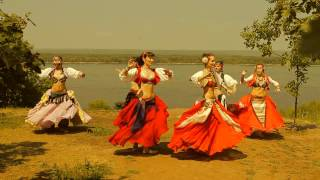 Славянский трайбл - ученики студии \Shambala\