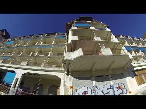 exploration sanatorium + drone, France, haute savoie, partie 1#URBEX