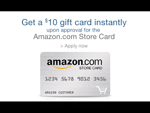 Get Your Amazon Store Card Now! Just Apply! - YouTube