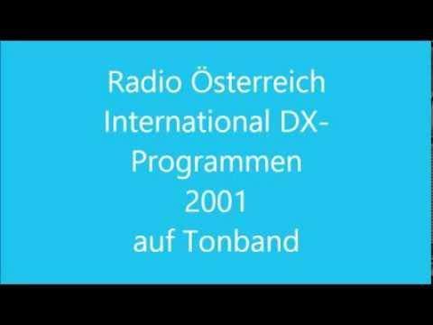 Radio Österreich International -  DX Programmen 2001