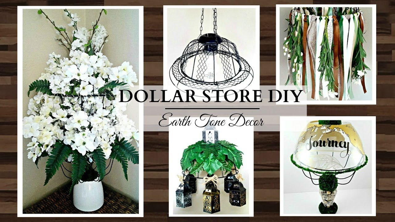 Dollar store diy 39 s 1 basket 5 different ways earth for Cute inexpensive home decor