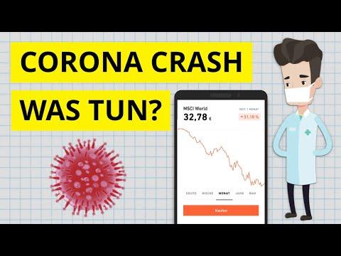Corona Crash: Wie ich in Krisenzeiten investiere - Was tun?
