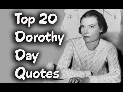 a biography of dorothy day an american social activist Dorothy day was an american journalist, social activist, and devout catholic convert in the 1930s, day worked closely with fellow activist peter maurin to establish the catholic worker movement, a nonviolent, pacifist movement that continues to combine direct aid for the poor and homeless with nonviolent direct action on their behalf.