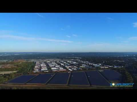 Solar Liberty installs the second largest solar energy system in New York State
