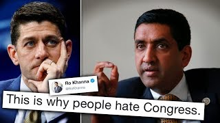 Ro Khanna Puts Paul Ryan on Blast for Delaying Vote on Yemen