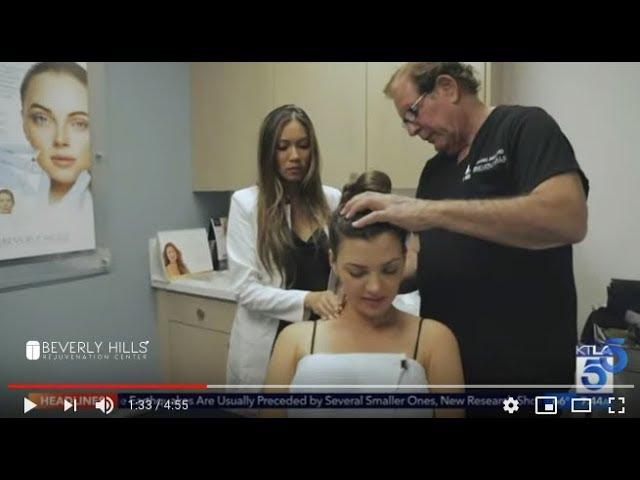Ali Landry Reveals Stem Cells Therapy on KTLA | Beverly Hills Rejuvenation Center