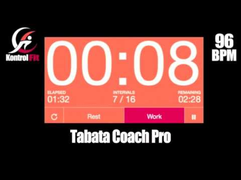 Tabata Coach Pro Hip Hop 96 bpm Tabata Workout with Vocal Coach & Timer