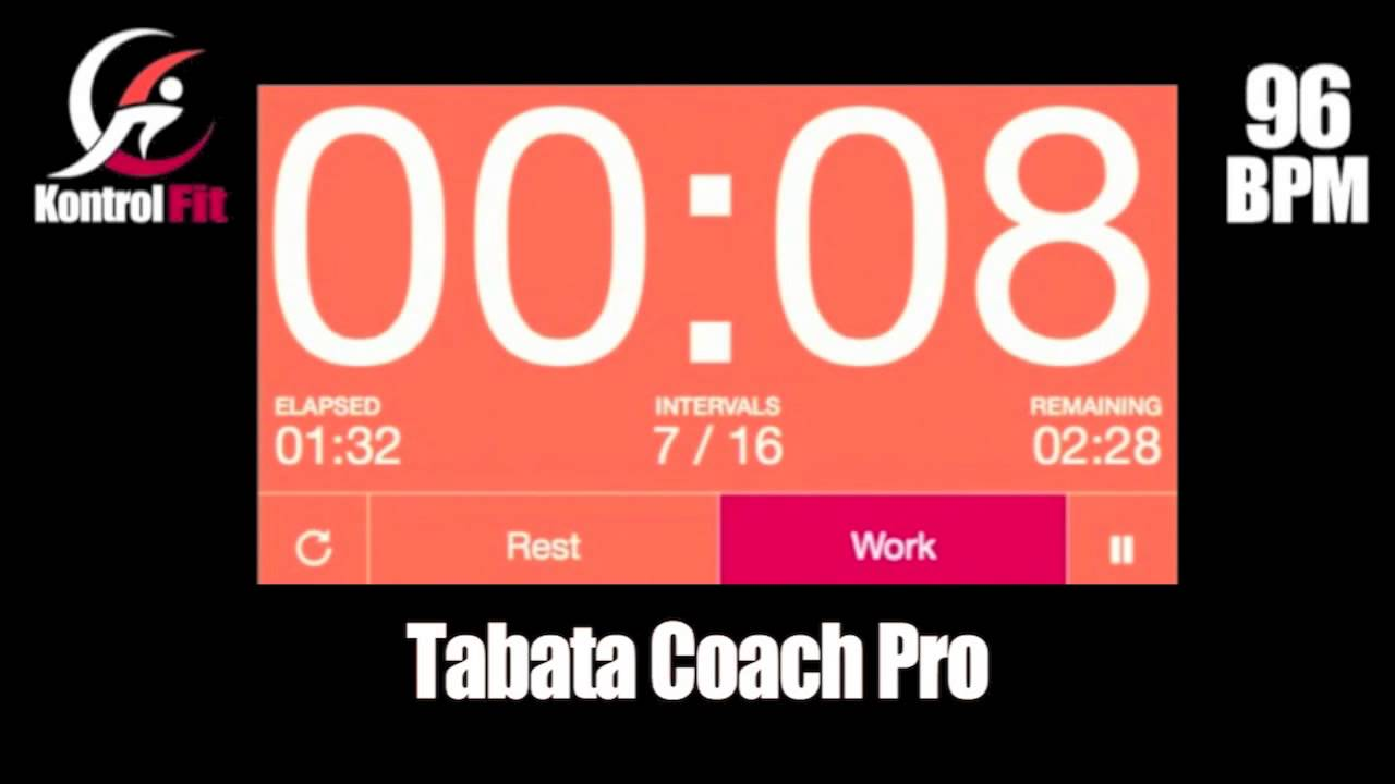 Tabata Coach Pro Hip Hop 96 bpm Tabata Workout with Vocal Coach & Timer
