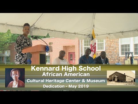 Kennard High School African American Cultural Heritage Center Dedication