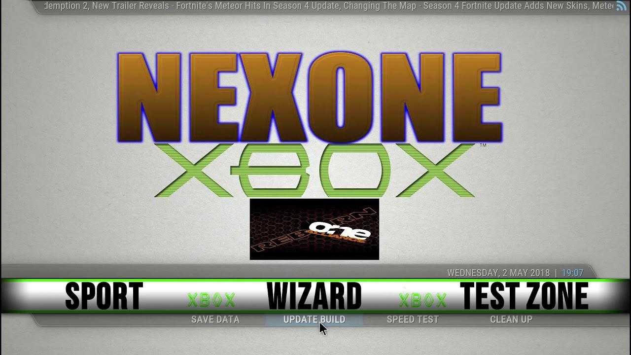 The Nexone Build for XBOX on Kodi 18
