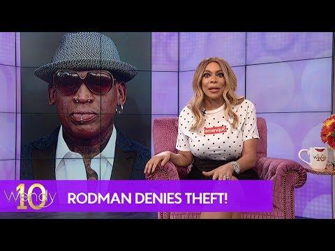Dennis Rodman Accused of Shoplifting