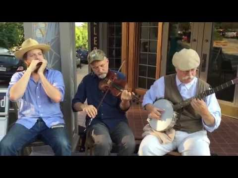 Clarke Buehling Banjo Old Timey Ozark music harmonica fiddle Fayetteville Roots Fest 2015