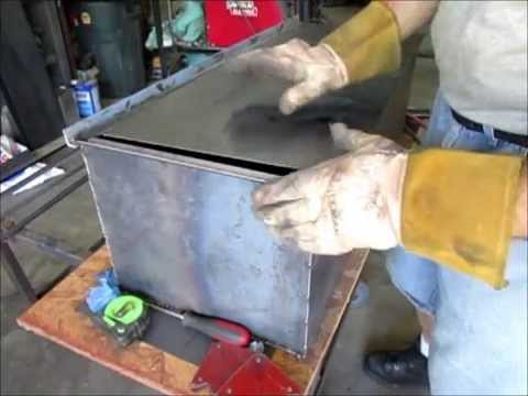Custom under bed tool box for FrankenTruckHD