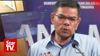 Saifuddin: PKR to issue statement on sex video after political bureau meeting