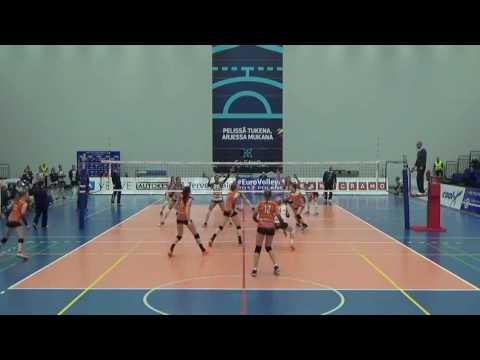 LORENA ZULETA Pomi Casalmaggiore vs. hpk Hameenl CEV CUP 2017