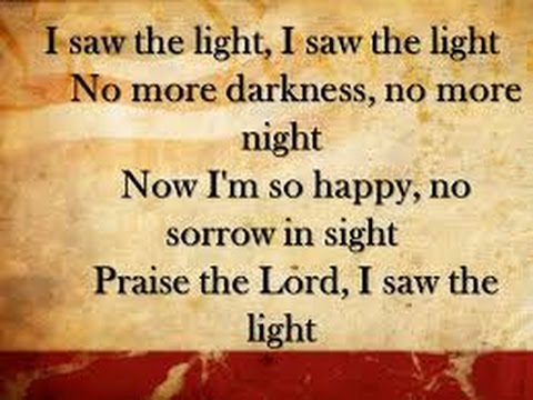 I saw the light, performed by Fortville church of the Nazarene on 3/08/2016