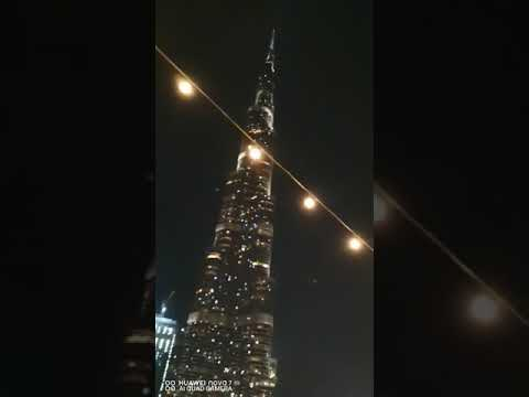 Dubai burj Khalifa Building