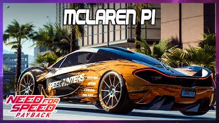 Need for Speed Payback  Mclaren P1 Customization - No Commentary