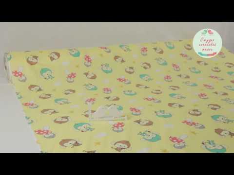 Ткань Оптом и в Розницу. Видео Обзор. Китайский Хлопок К141