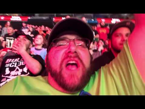WWE ROYAL RUMBLE 2018 REACTIONS! PORTA POTTY PARKING LOT MATCH FAN MEET UP VLOG! Mp3