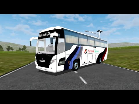 Scania Touring K360 Mod For Bussid Coming Next Week By Fahim Auvro