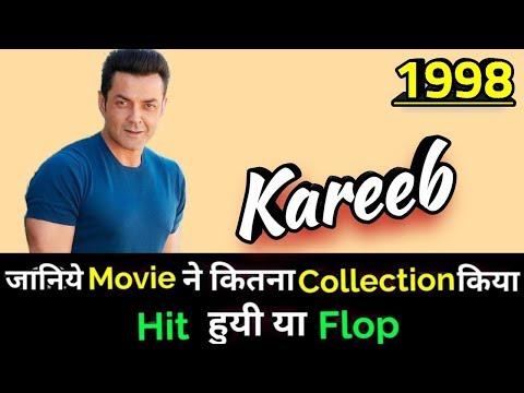 Bobby Deol KAREEB 1998 Bollywood Movie Lifetime WorldWide Box Office Collection