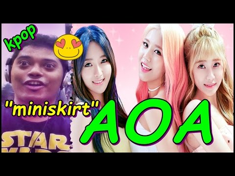 AOA - 짧은 치마 (Miniskirt) MV REACTION