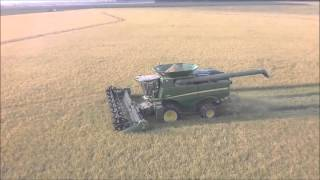 David and Robert Petter Rice Harvest 2015 Stuttgart, AR