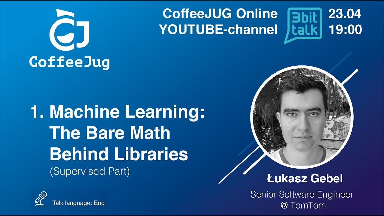 Machine Learning: The Bare Math Behind Libraries (Supervised Part) by Łukasz Gebel | CoffeeJUG