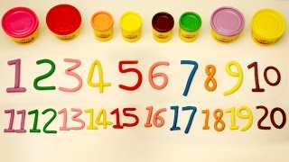 1 to 20   Learn Numbers 1 - 20   Number Song   Play Doh Numbers