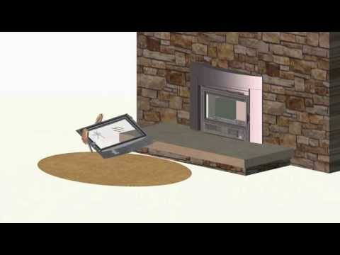 EPI3C Fireplace Glass and Gasket Replacement - YouTube